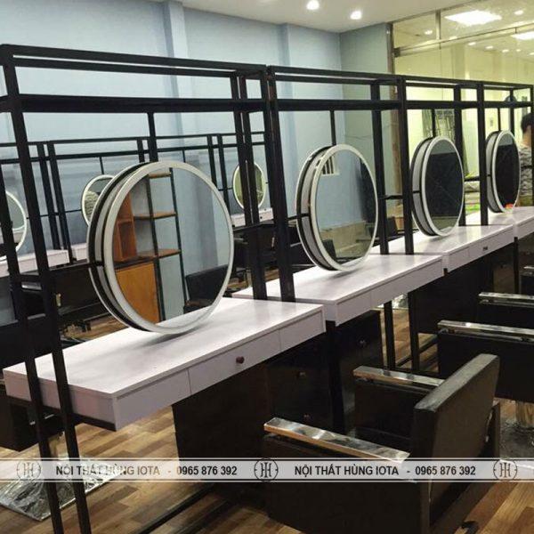 Gương cắt tóc tròn 2 mặt đẹp giá rẻ
