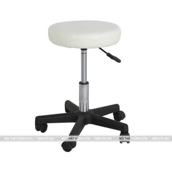 Ghế spa tròn xoay 360 độ màu trắng