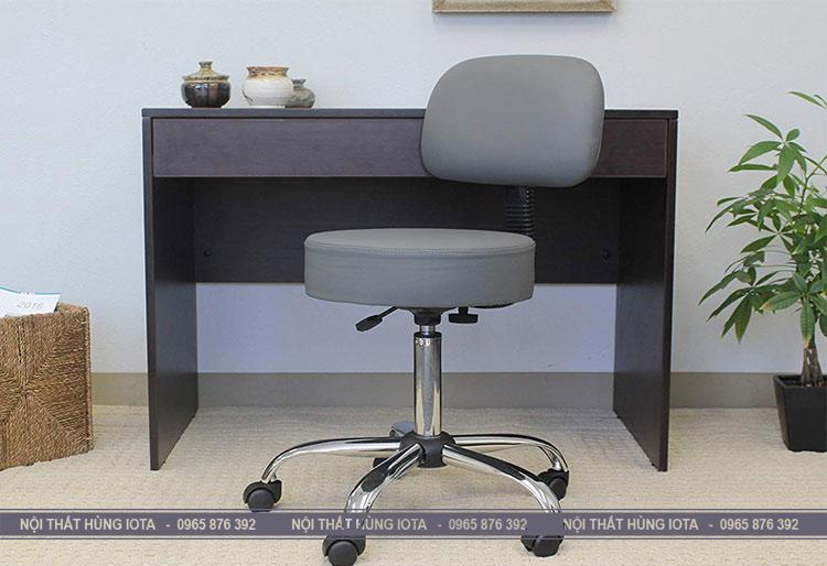 Ghế tròn xoay 360 độ có tựa lưng