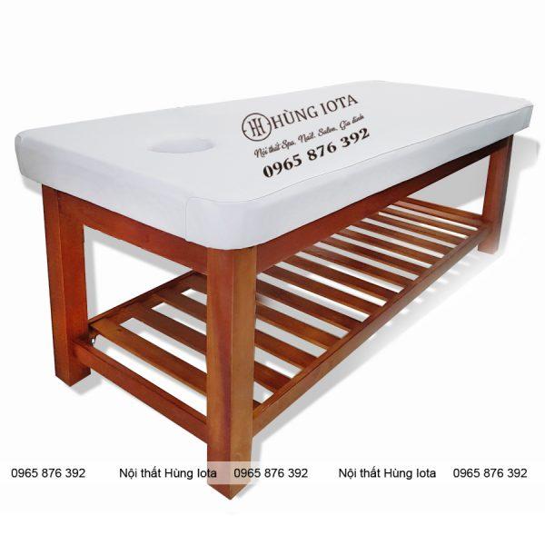 Giường spa màu cánh gián GS06 giá rẻ