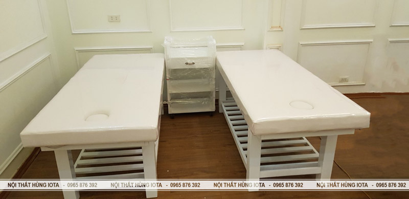Giường spa massage body đẹp giá rẻ Elysa Beauty & Spa