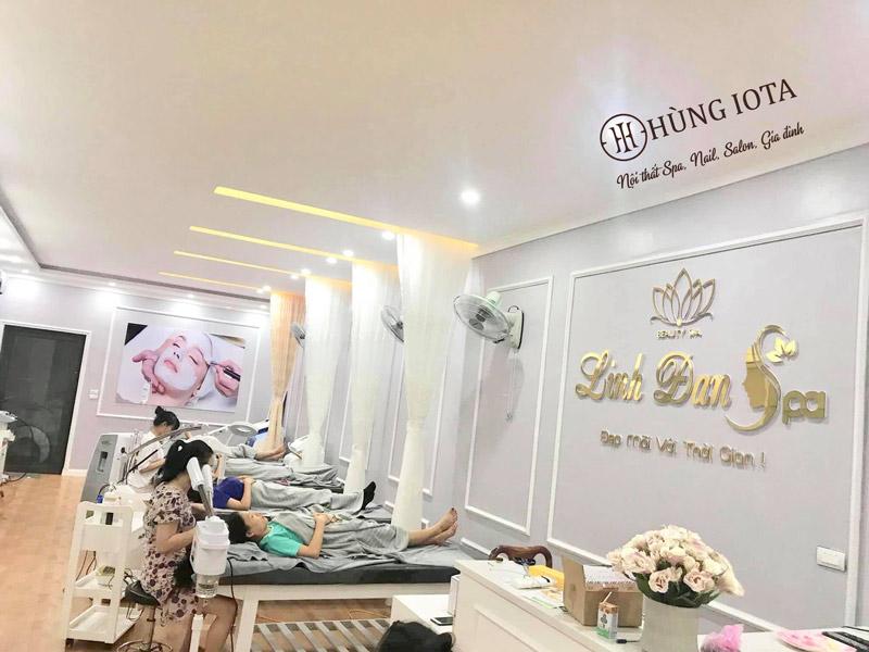 Hoàn thiện nội thất spa Linh Đan Spa