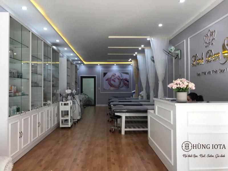 Hoàn thiện nội thất spa Linh Đan
