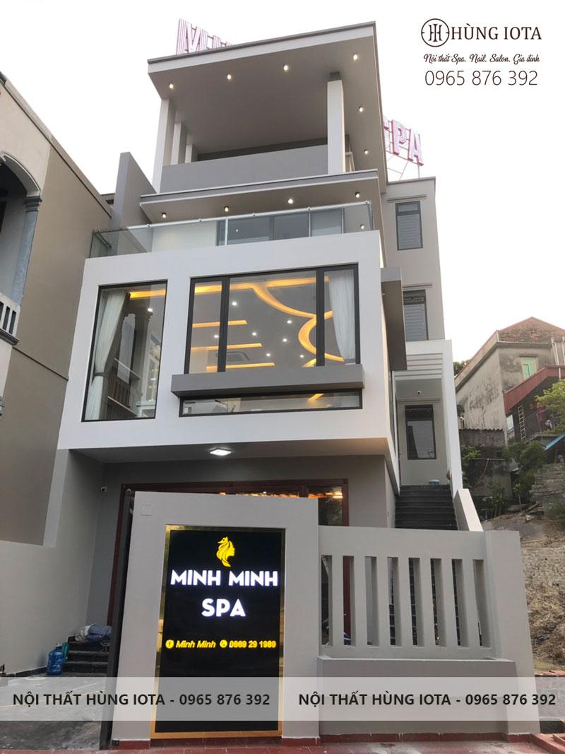 Tư vấn thiết kế nội thất spa Minh Minh Spa