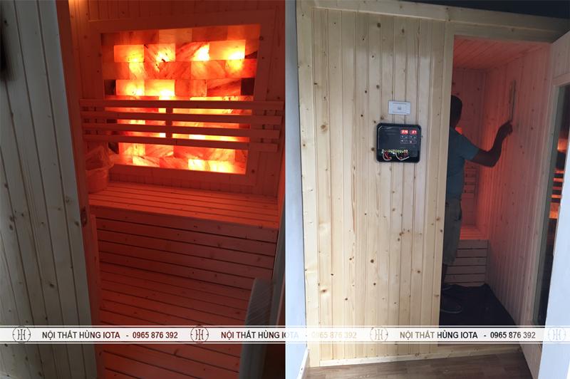 Phòng xông hơi khô da muối tại spa Hà Tĩnh