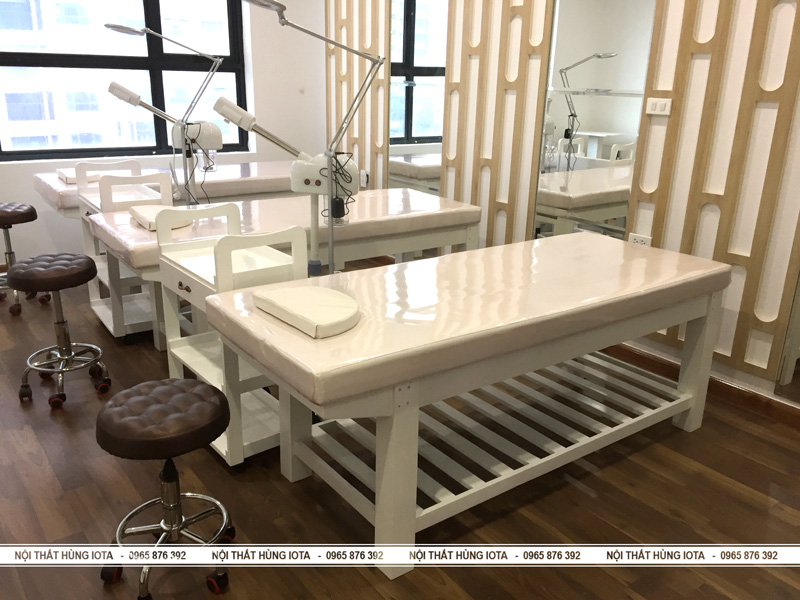 Setup Giường spa ở chung cư Seline Spa