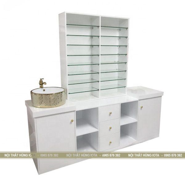 Tủ đựng sản phẩm có bồn rửa tay lavabo TSP03