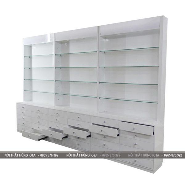 Tủ đựng sản phẩm có nhiều ngăn tủ TSP04