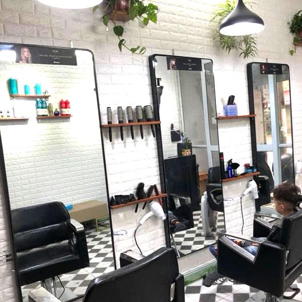 Gương cắt tóc full viền đẹp giá rẻ