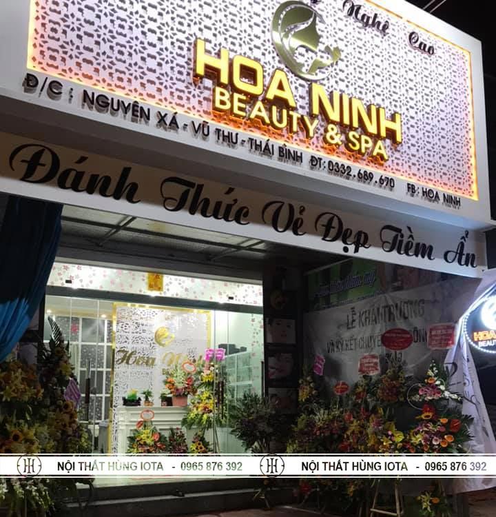 Thẩm mỹ viện công nghệ cao Hoa Ninh Beauty Spa