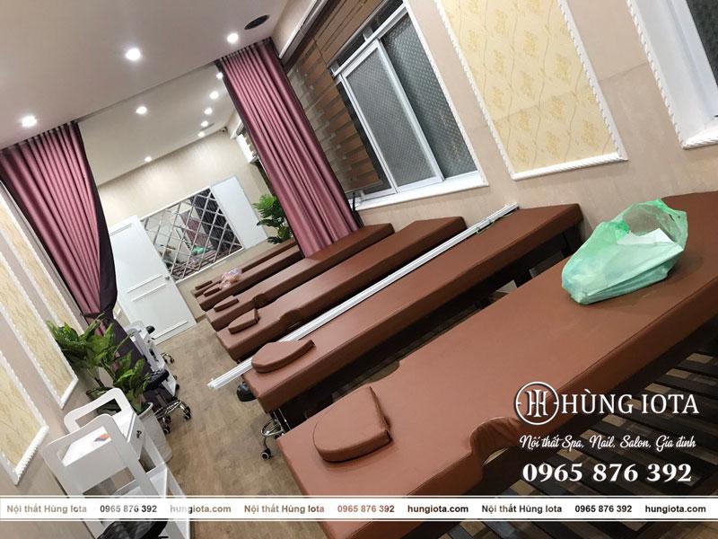 Giường spa, xe đẩy spa tại Hà Nội