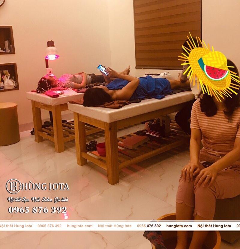 Lắp đặt nội thất spa mini Maria spa Đào Duy Anh, Quảng Ninh