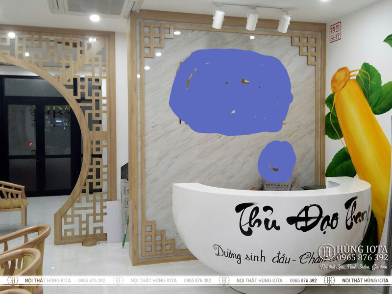 Tư vấn làm nội thất trung tâm trị liệu massage Thủ Đạo Thang
