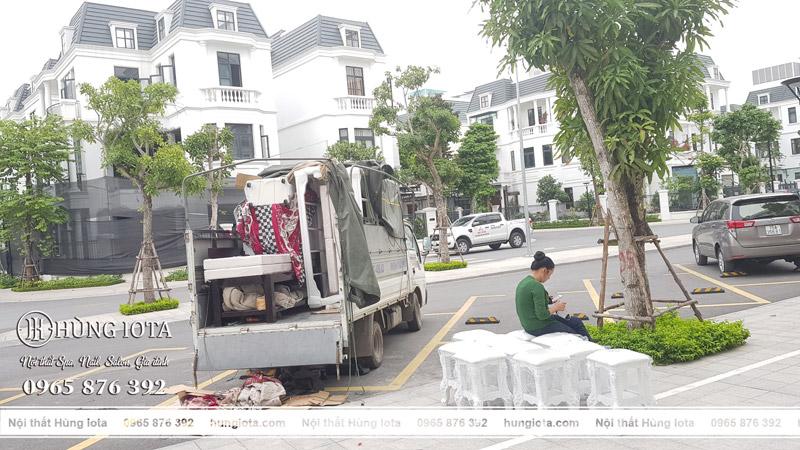 Vận chuyển lắp đặt nội thất spa, thẩm mỹ viện Minh Châu Vinhomes Hải Phòng