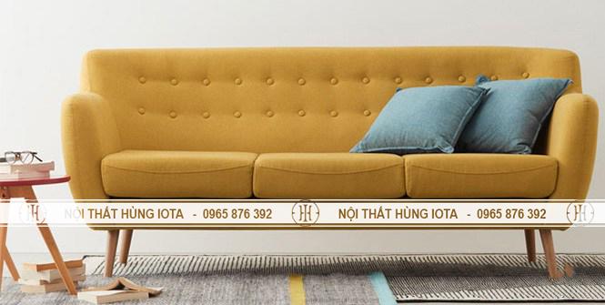 Sofa chờ spa bàn giao cho khách hàng
