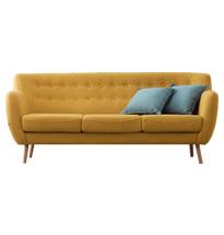 Ghế chờ spa hay sofa spa đơn giản SFS01 màu vàng