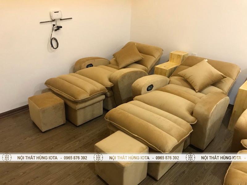 Ghế massage chân foot màu vàng đẹp giá rẻ