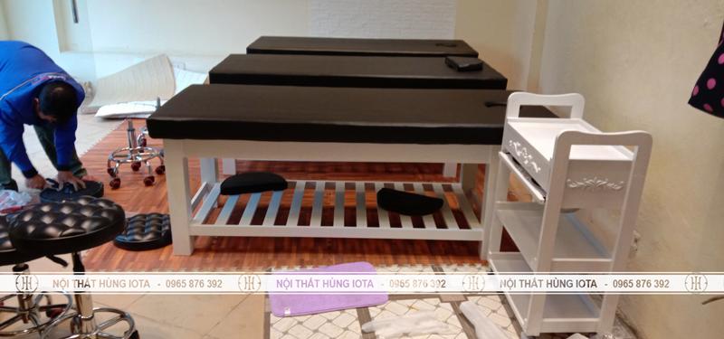 Lắp đặt giường spa, ghế spa, xe đẩy spa tại Hai Bà Trưng