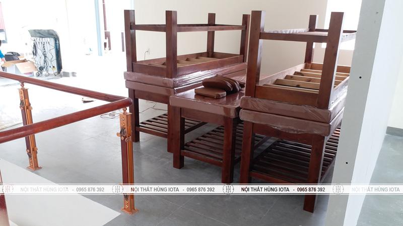 Lặp đặt giường spa, massage tại Hà nam