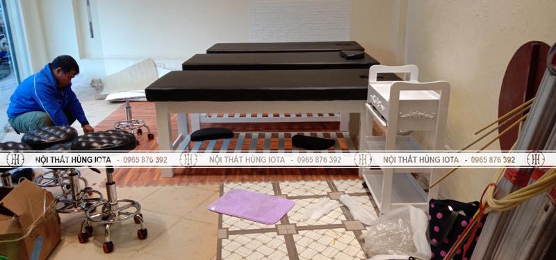 Lắp đặt nội thất spa tại Trần Khát Chân, Hai Bà Trưng