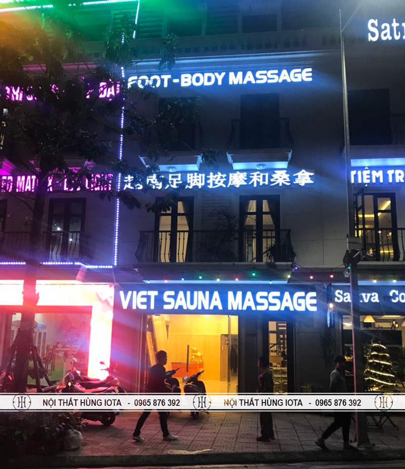 Nội thất foot body massage viet saune massage