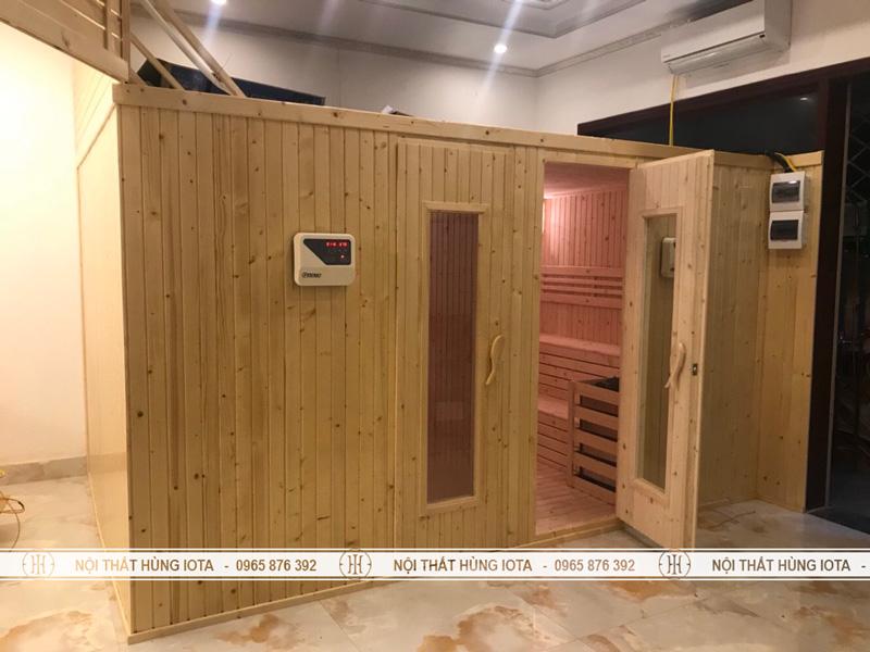 Phòng xông hơi khô cho spa, trung tâm massage
