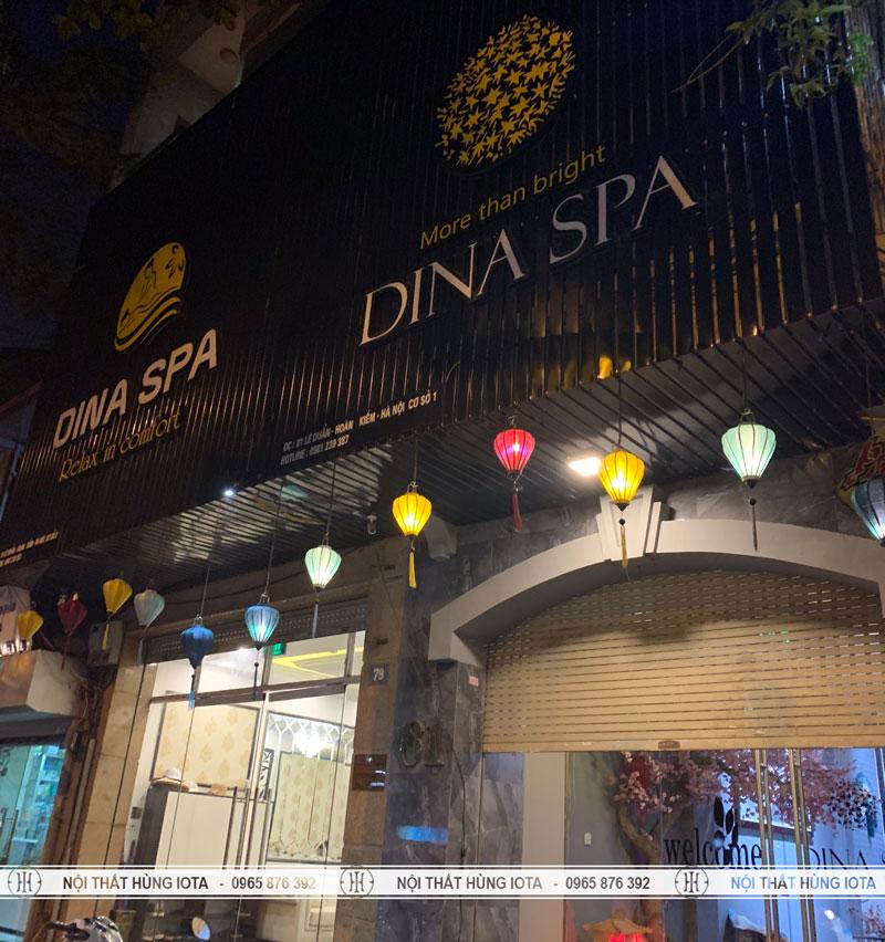Thẩm mỹ viện Dina Spa cho người Hàn Quốc