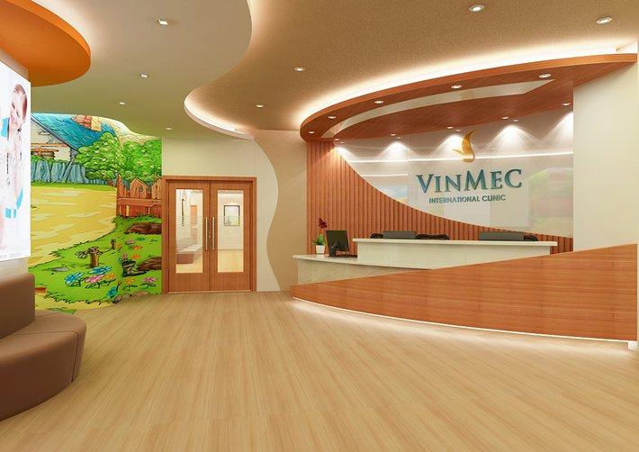 Lắp đặt nội thất phòng khám cho bênh viên Vinmec