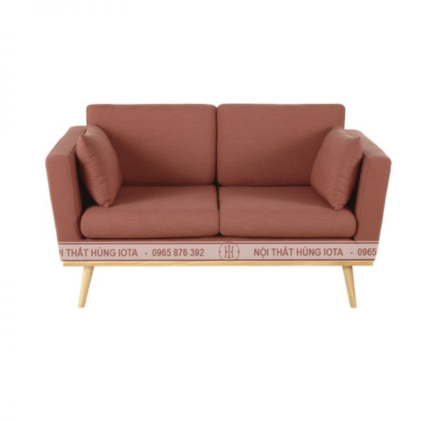 Sofa màu hông, sofa spa màu hồng, sofa nail màu hồng, sofa salon màu hồng