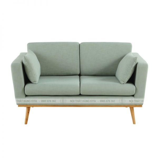 Sofa spa đơn giản màu xanh nhạt đẹp giá rẻ