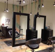 Gương cắt tóc treo màu đen hình chữ nhật đẹp giá rẻ GCT20