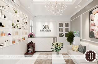Thumb Nội thất spa màu trắng, nội thất thẩm mỹ viện màu trắng