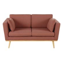 Sofa spa màu hồng đậm, sofa nail màu hồng đậm, sofa salon đẹp giá rẻ SPF05
