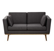 Sofa spa đơn giản màu xám đen đẹp giá rẻ tại xưởng SFS03