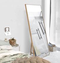 Gương soi toàn thân hình chữ nhật khung gỗ đẹp giá rẻ GCT17