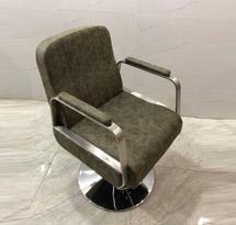 Ghế cắt tóc màu xanh rêu GCT06 đẹp giá rẻ