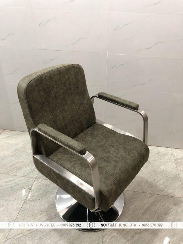 Ghế cắt tóc màu xanh rêu đẹp giá rẻ
