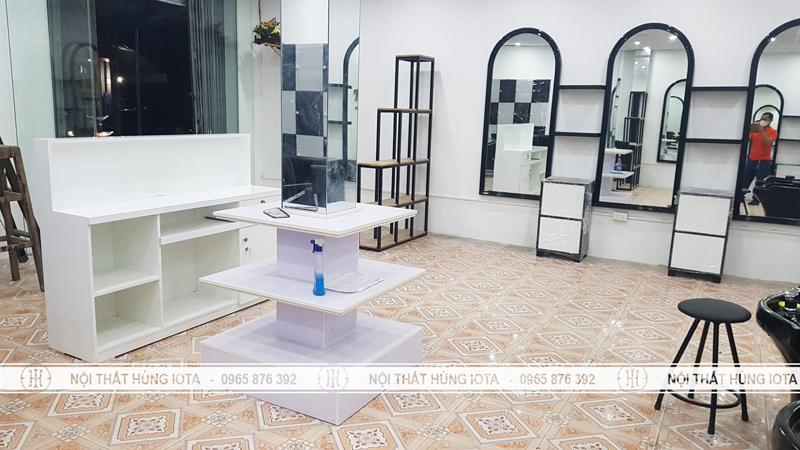 Lắp đặt Nội thất salon tóc tại Ninh Bình