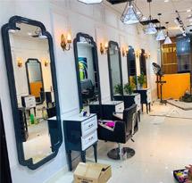 Gương cắt tóc hình chữ nhật khuyết góc GCT26A