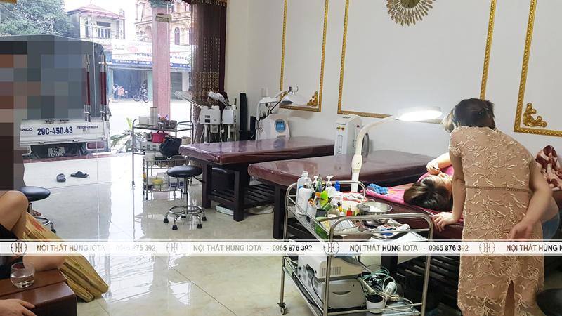 Lắp đặt nội thất spa tại Thái Nguyên
