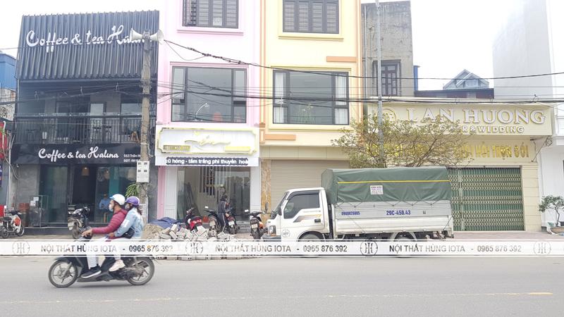 Lắp đặt nội thất thẩm mỹ viện Én spa ở Thành Phố Nam Định