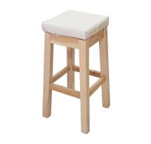 Ghế gỗ spa màu vàng trắng GKTV06 cho kỹ thuật viên spa