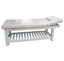 Giường spa nâng đầu trắng hay giường nối mi trắng GS26