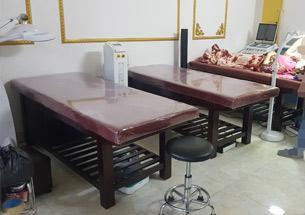 Thumb lắp đặt nội thất spa màu nâu tại Thái Nguyên