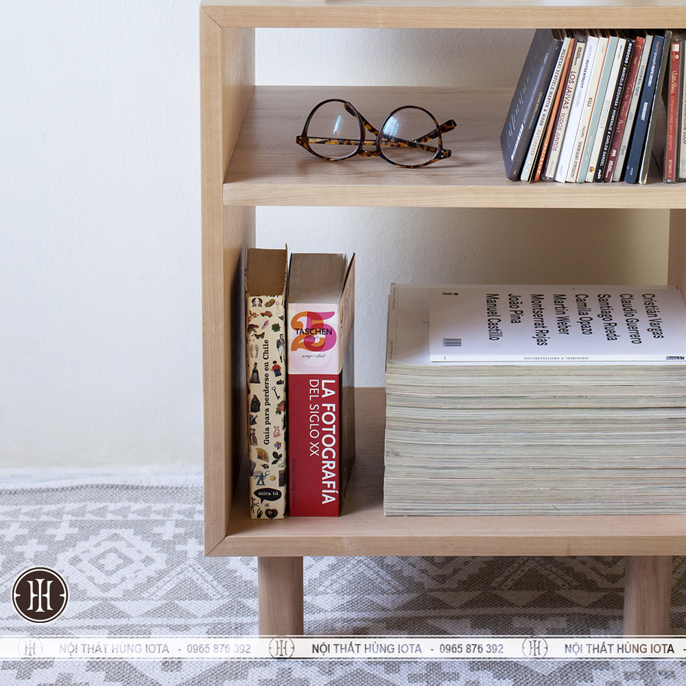 Chi tiết hộc gỗ đựng sách đẹp giá rẻ