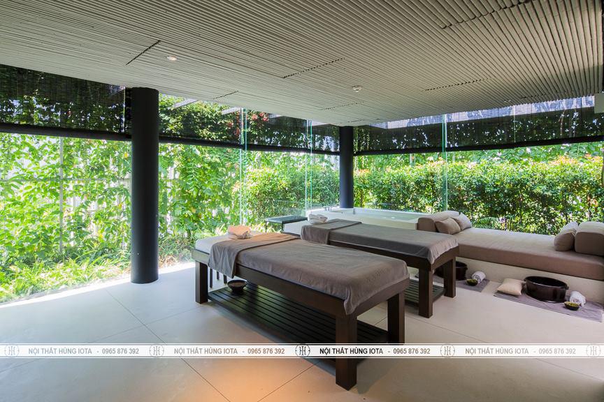 Giường massage sang trọng cho thẩm mỹ viện đẹp cao cấp