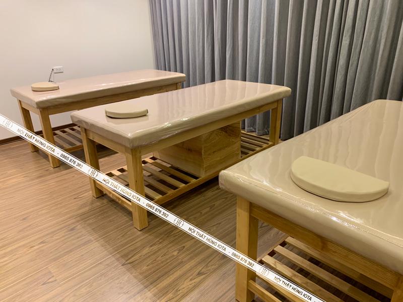 Giường spa phong cách Hàn Quốc cho người Hàn tại Mỹ Đình