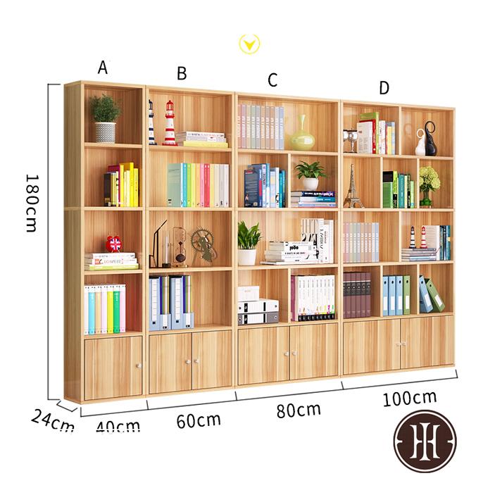 Kích thước tủ spa trưng bày sản phẩm màu gỗ