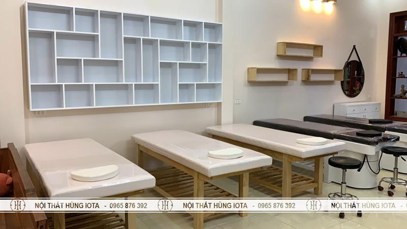 Lắp đặt nội thất spa tại Đồng Kỵ Bắc Ninh