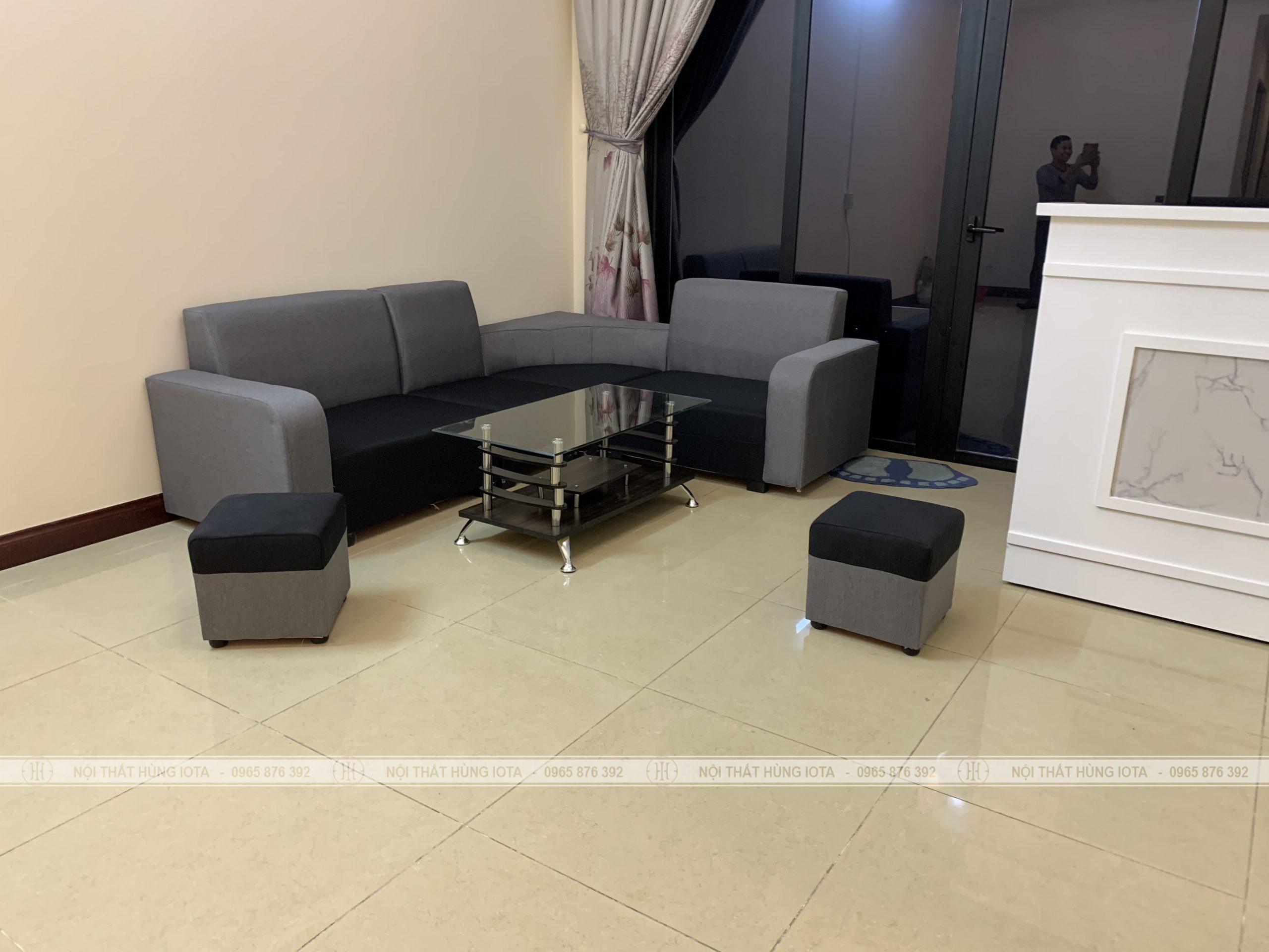 Sofa gia đình, sofa tiếp khách cho spa